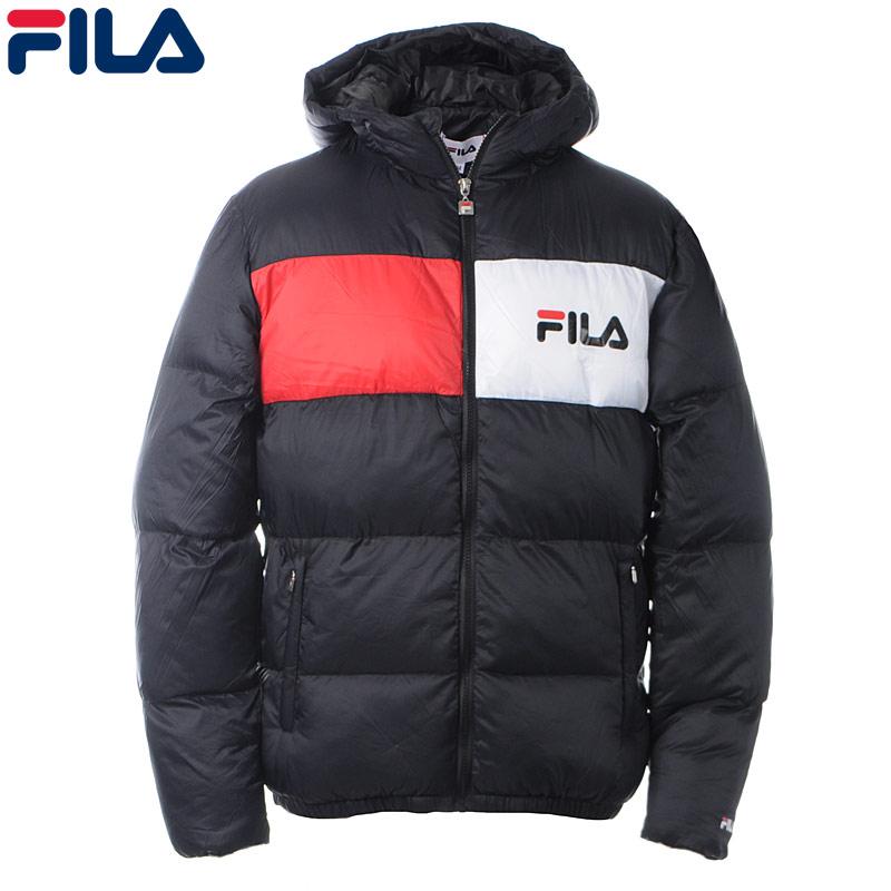 フィラ FILA ナイロンブルゾン メンズ アウター 682368 ブラック