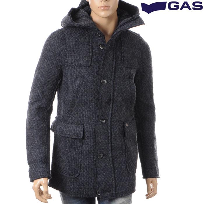 ガス GAS メンズニットコート ネイビー 280223 090906