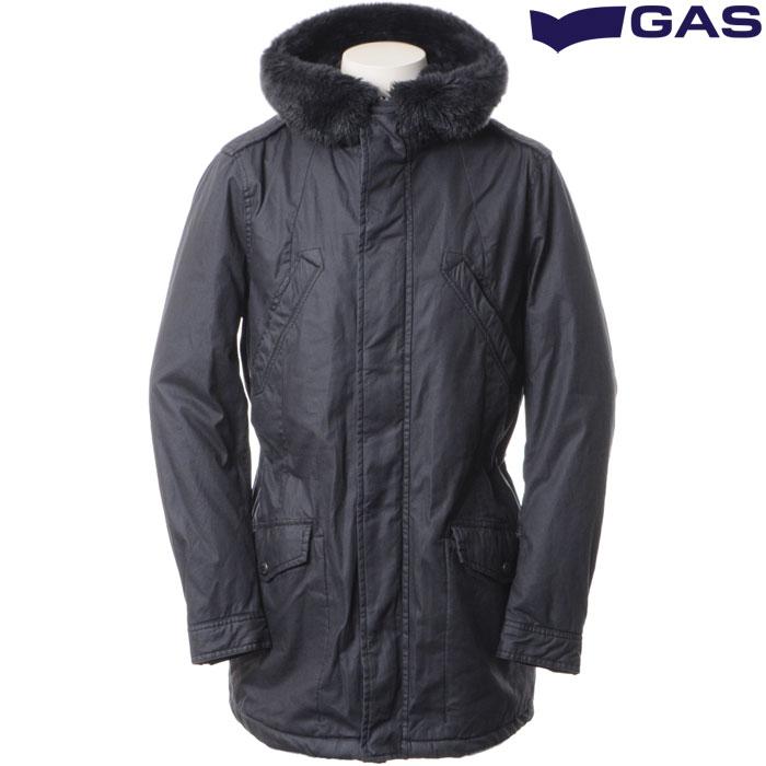 ガス GAS N-3Bミリタリーコート メンズ ネイビー 280209 420286