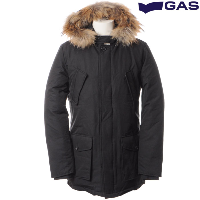 ガス GAS ダウンジャケット メンズ ブラック WEDDY/S PC0022 421801