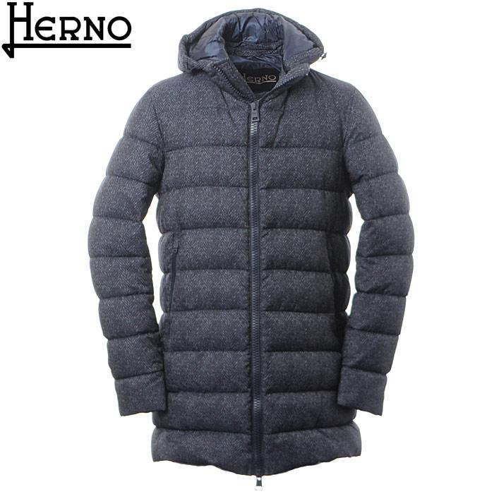 ヘルノ HERNO ダウンコート メンズ アウター PI0511U M01 13155 ネイビー