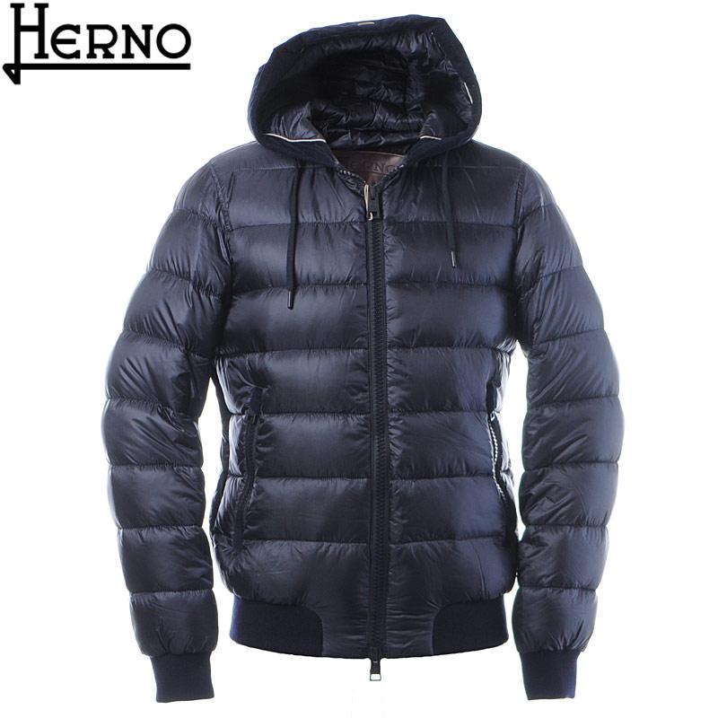 ヘルノ HERNO ダウンジャケット ブルゾン メンズ アウター PI041UR 12020 ネイビー