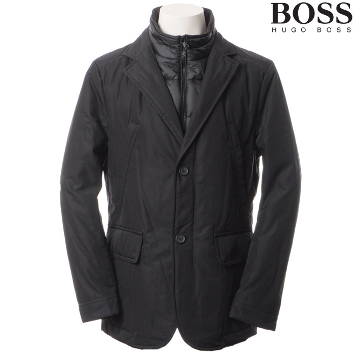 ヒューゴボス HUGO BOSS ボスブラック ナイロンジャケット メンズ ブラック 50295840