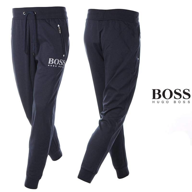 ヒューゴボス HUGO BOSS スウェットパンツ メンズ 50424843 10166548 ネイビー 2020春夏新作