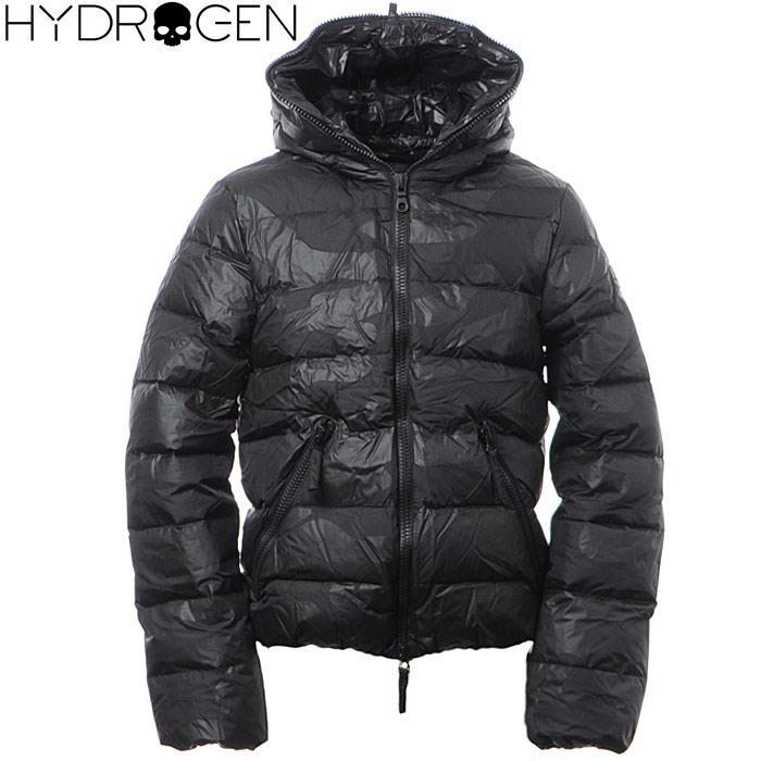 ハイドロゲン HYDROGEN ダウンジャケット メンズ アウター ブルゾン 21D004 ブラック