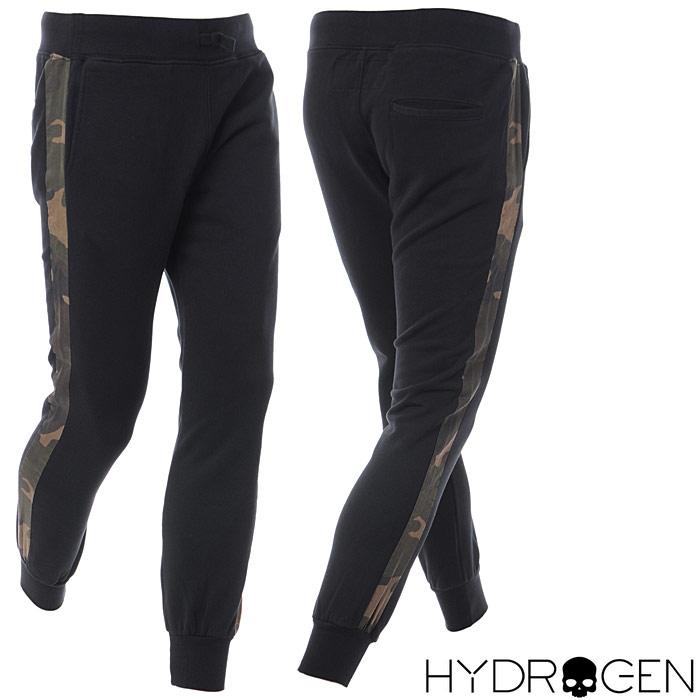 ハイドロゲン HYDROGEN スウェットパンツ メンズ 215103 ブラック