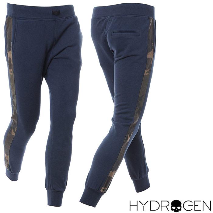 ハイドロゲン HYDROGEN スウェットパンツ メンズ 215103 ネイビー