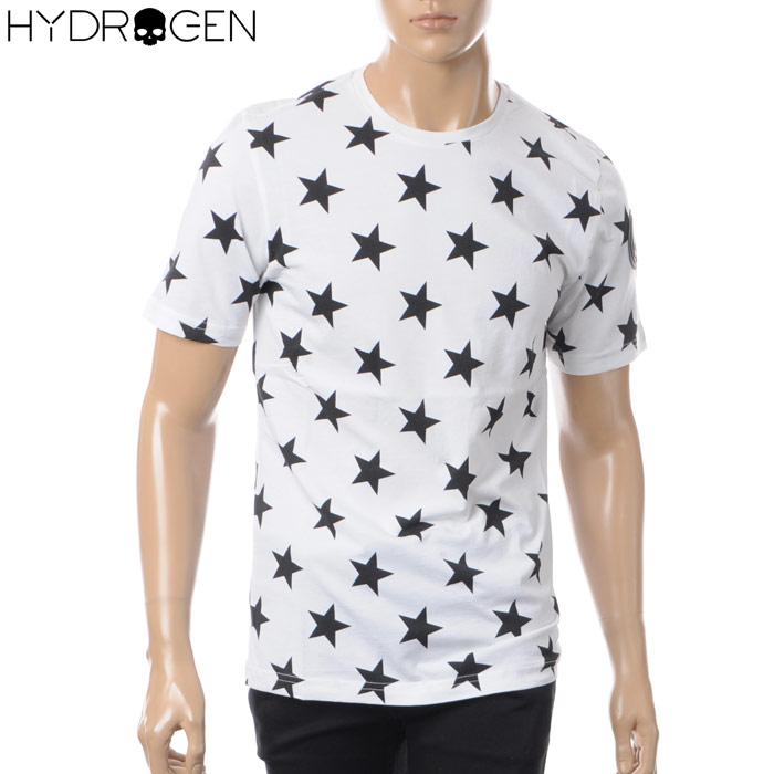 ハイドロゲン HYDROGEN クルーネックTシャツ 半袖 メンズ 220112 ホワイト 2018春夏セール