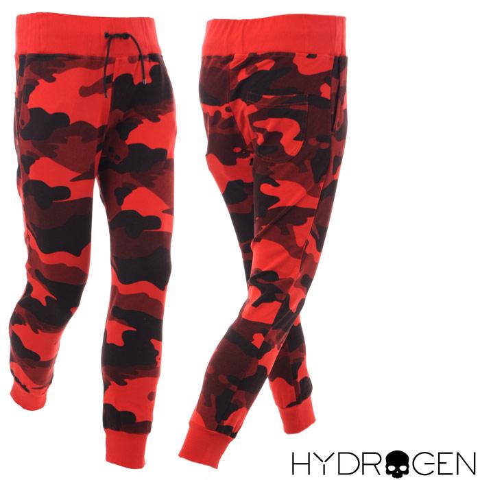 ハイドロゲン HYDROGEN スウェットパンツ メンズ 220004 レッドカモフラ 2018春夏セール