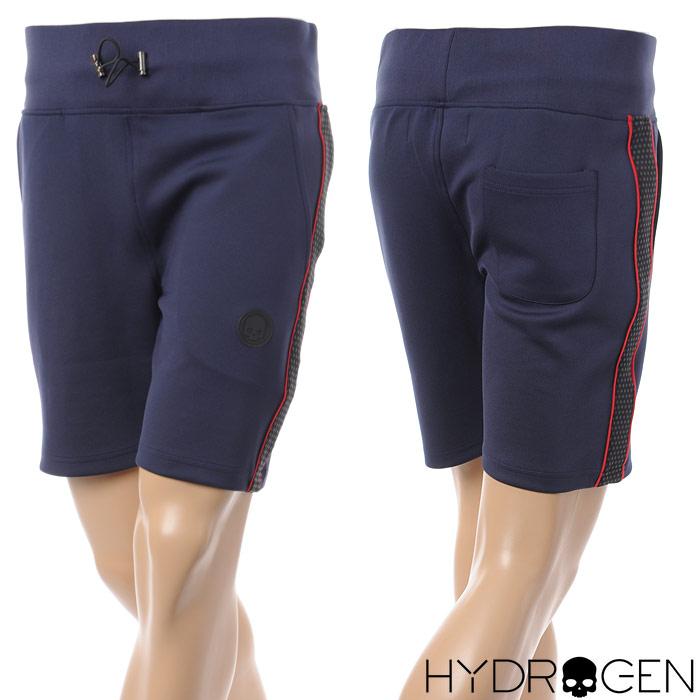 ハイドロゲン HYDROGEN ハーフパンツ スウェット メンズ 225616 ネイビー 2018春夏セール