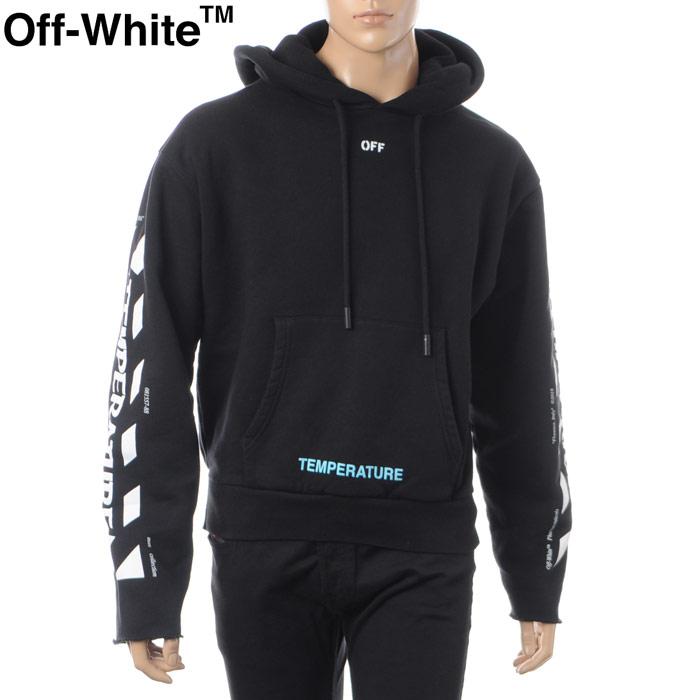 オフホワイト OFF WHITE プルオーバーパーカー メンズ OMBB031S181920231001 ブラック 2018春夏セール
