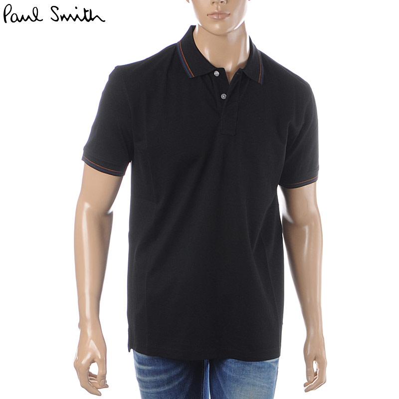 ポールスミス PAUL SMITH ポロシャツ 半袖 メンズ M2R 151LJ B20069 ブラック