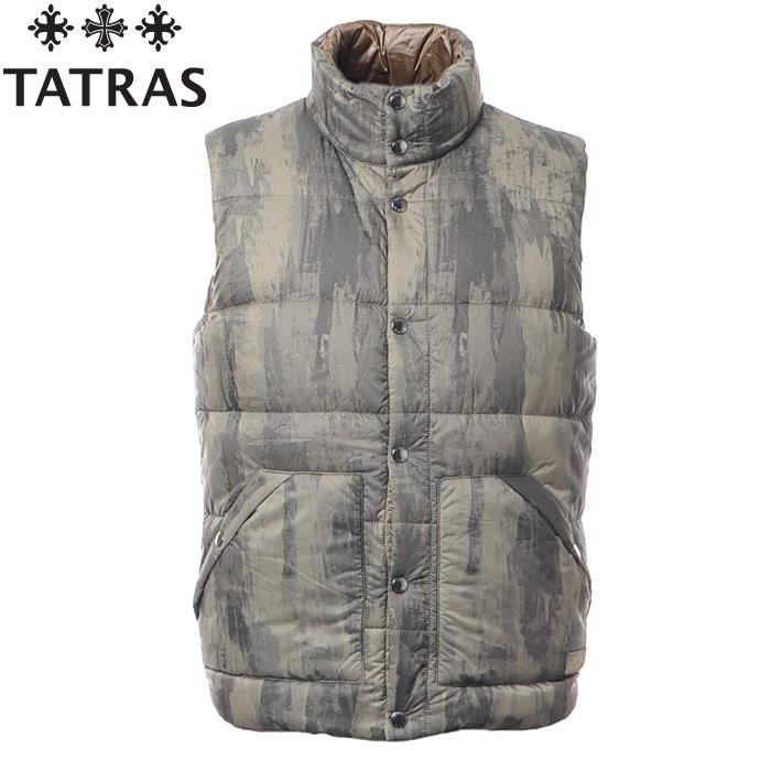 タトラス TATRAS ダウンベスト アウター メンズ NEVAIO MTA17A4458 ベージュ
