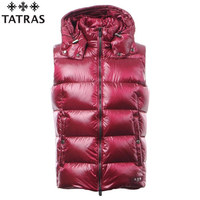 タトラス TATRAS ダウンベスト メンズ アウター ベスト POSEIDONE MTA18A4309 ワイン