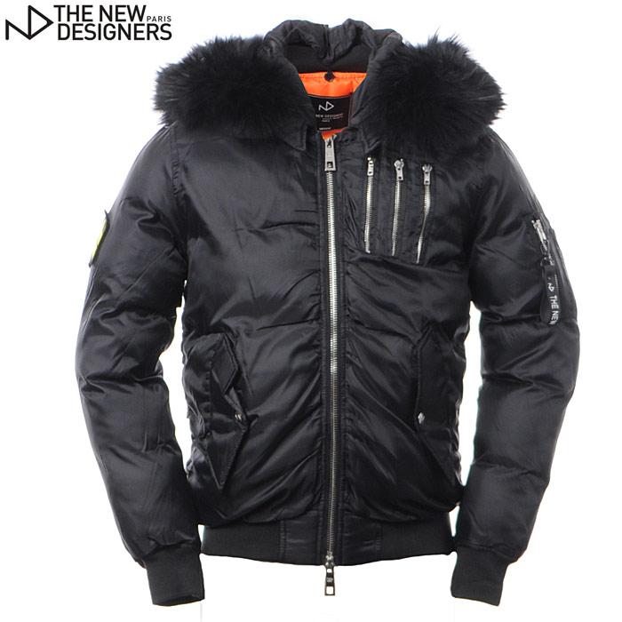 ザ ニューデザイナーズ THE NEW DESIGNERS N-2Bジャケット メンズ アウター W17620 ND DONOVAN ブラック