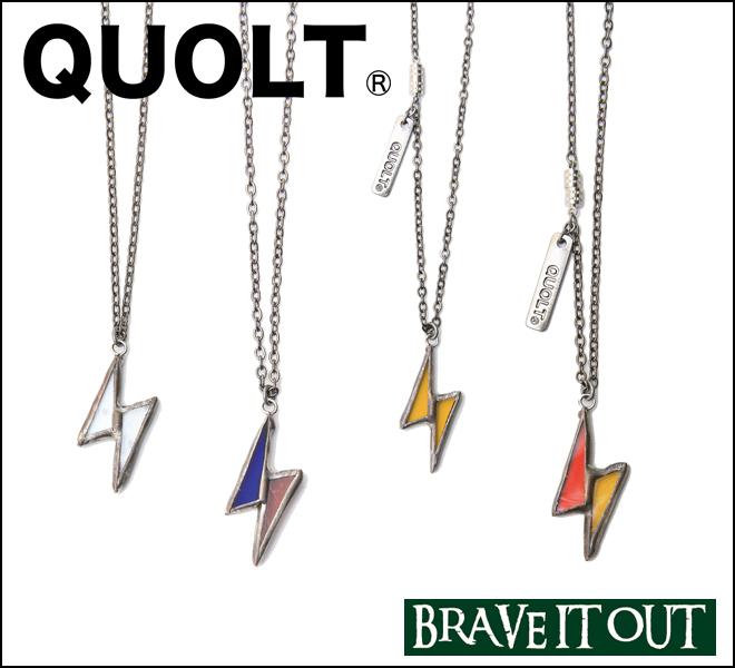 QUOLT ネックレス QUOLT クオルト VOLT-GLASS NECKLACE ステンドグラス ネックレス【quolt】901T-1077