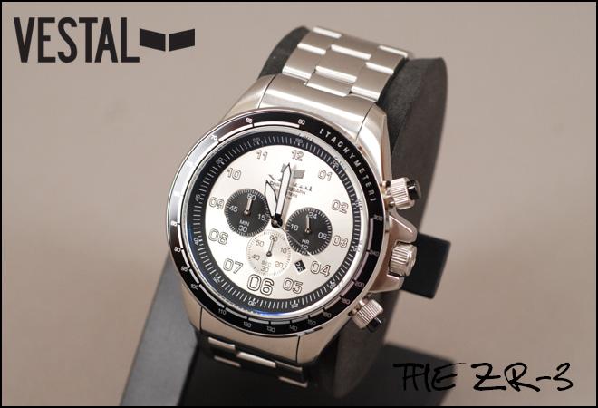 『入荷!!即日発送』VESTAL THE ZR-3 ZR3015(ベスタル)腕時計【送料無料,代引手数料無料】