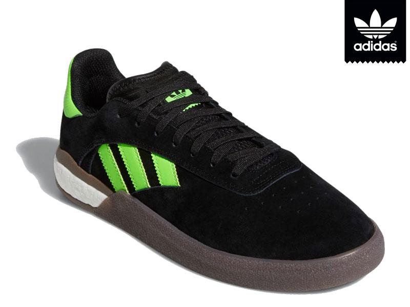 adidas SKATEBOARDING アディダス 日本正規品 3ST.004 スリーエスティ ゼロゼロフォー EE6151 スケートボード スニーカー 靴 スケシュー スケボー スケートボーディング Originals オリジナルス26cm 26.5cm 27cm BLACK 黒