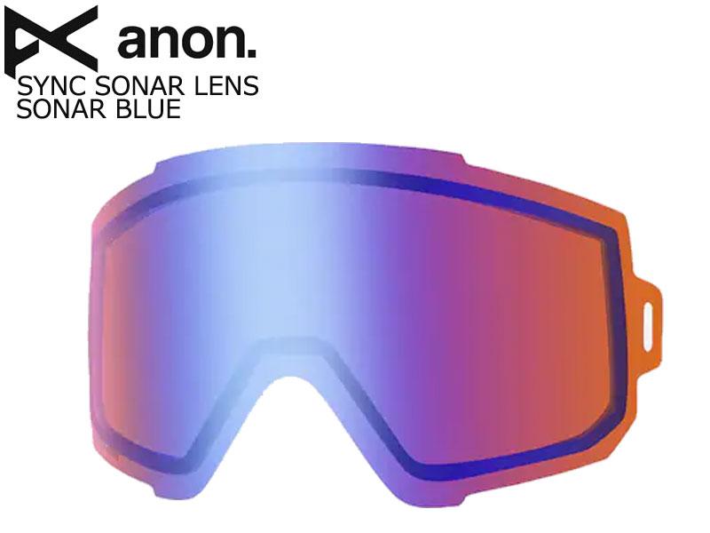 アノン【anon】BURTON バートン スノーボード SYNC GOGGLE SONAR BLUE LENS 46% VLT S1 ゴーグル スペア レンズ 替えレンズ 予備 SPARELENS ZEISS 21413100407NA