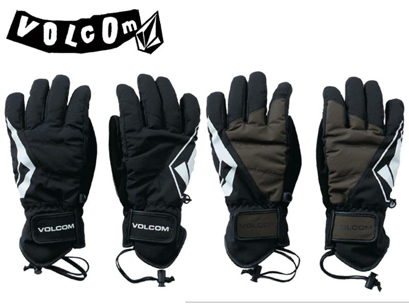 VOLCOM ボルコム ヴォルコム 日本正規品 グローブ 手袋 J68520JA VCM Glove II スノー スノーボード SNOWBOARD スキー メンズ Men's 5本指 防寒 BLACK ブラック