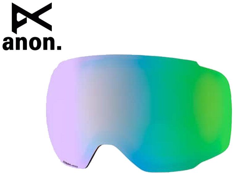 アノン【anon】 M2 ゴーグル スペア レンズ 替えレンズ 予備 M2 エムツー SPARE LENS SONAR GREEN 23% VLT スノーボード BURTON バートン 19177100309NA