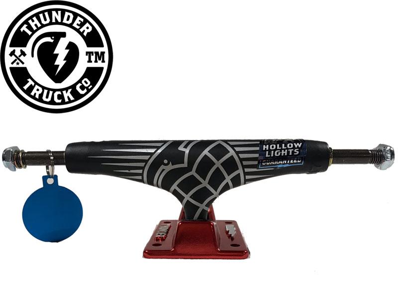 Thunder サンダー トラック Rouge Sonora HL 147 スケートボード ホローライト スケボー ブラック レッド black red 091818