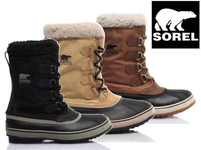 ソレル【SOREL】 1964 パックナイロン 1964 Pac Nylon NM1440 ブーツ 靴 冬靴 シューズ スノーブーツ ウォータープルーフ 冬用ブーツ 防水 日本正規品 人気 大きいサイズ 26cm 27cm 28cm 29cm 30cm8 9 10 11 12