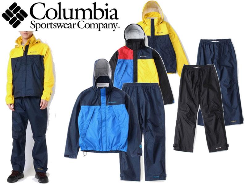 【Columbia/コロンビア】 シンプソンサンクチュアリレインスーツ Simpson Sanctuary Rainsuit PM0124 雨具 レインウェア カッパ レインコート アウトドア 野外フェス 釣り フィッシング