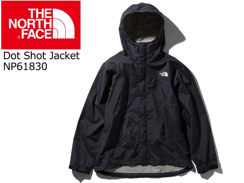 THE NORTHFACE ザ ノースフェイス ノース Dot Shot Jacket ドットショット ジャケット NP61830 アウター アウトドア 登山 サイクリング K BLACK 黒 くろ M L