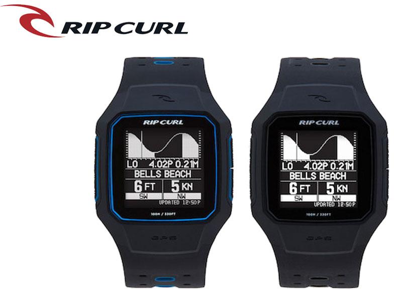 【RIP CURL】リップカール 腕時計 時計 ブルー Search GPS2 サーチGPS2 BLACK BLUE ブラック タイドグラフ付き サーフウォッチ デジタル時計 サーフィン 時計 便利グッズ ユニセックス メンズ レディース 男 女 日本正規品 ギフト