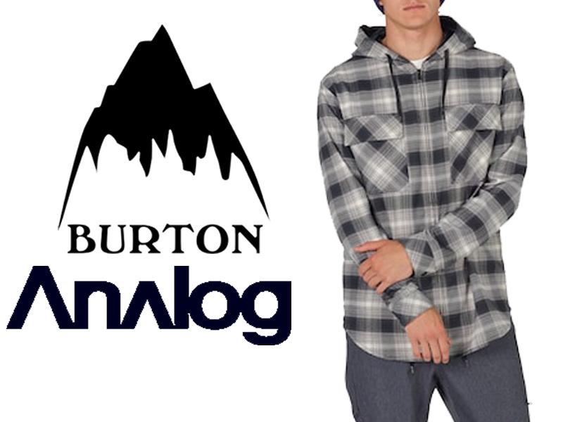 Analog アナログ BURTON バートン 17-18 Kaiden Hooded Flannel 17423101 フランネル フード ジャケット メンズ スノーボード スノボー WATERPROOF 撥水 日本正規品