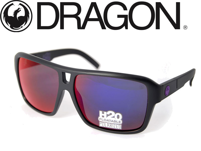 【DRAGON ドラゴン】 サングラス メガネ 偏光レンズ THE JAM MATTE H20 防水 水に浮く 海 送料無料 720-2222
