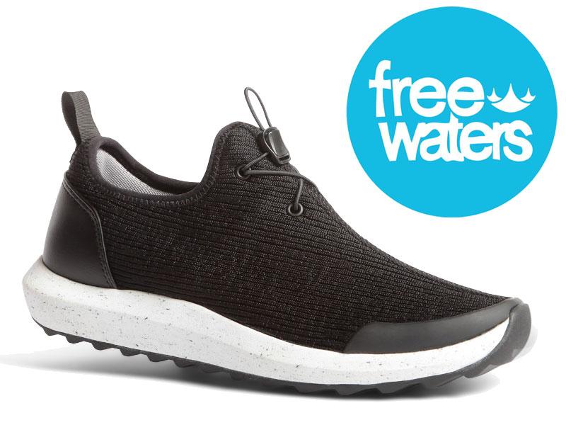 【FREEWATERS】 FREE WATERS フリーウォーターズFREELAND MNS BKGY フリーランド MC-033靴 スニーカー スリッポン シューズ サーフィン サーフ スケートボード スケボー