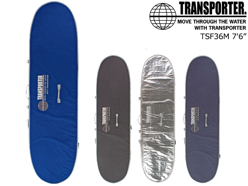 "TRANSPORTER トランスポーター ファーストケースファンボード TSF36M 7'6""FUNBOARD BOARDCASE サーフボード サーフィン SURF"