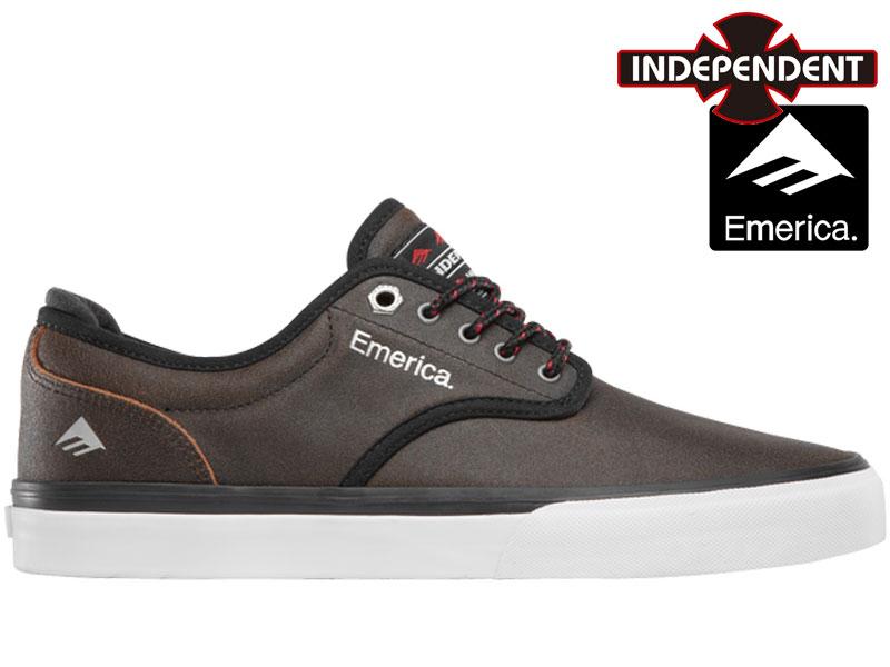 【EMERICA】WINO G6 INDY エメリカ INDEPENDENT インディ ペンデント スニーカー シューズ スケート スケシュー コラボ 6107000196 201 27cm