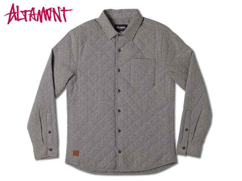ALTAMONT オルタモント アルタモント Straightaway シャツ ジャケット アウター メンズ ファッション ストリート系 スケーター