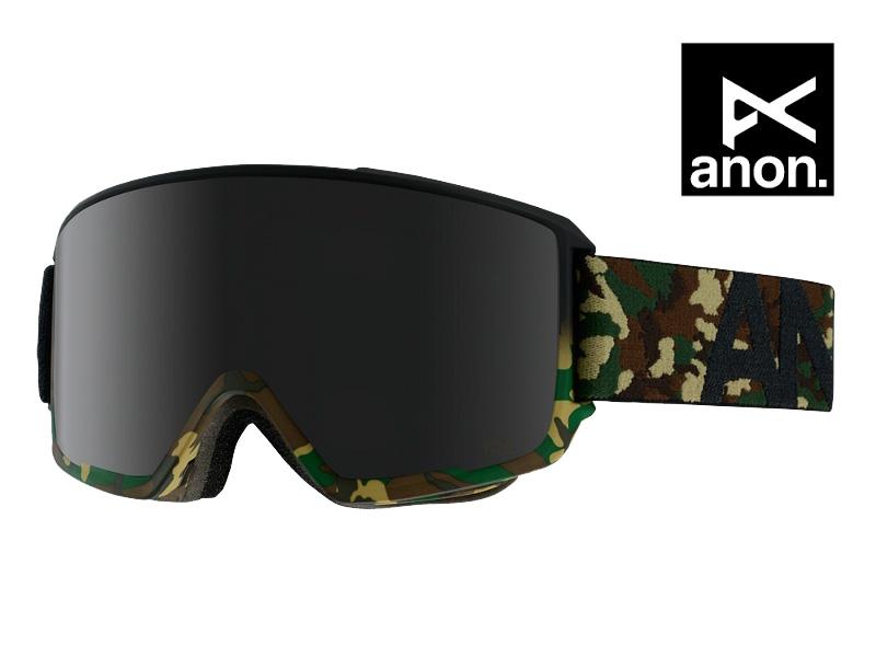 ANON アノン ゴーグル M3 GUERRILLA DARK SMOKE スノーボード  15231100942
