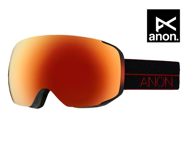 ANON アノン ゴーグル M2 RED LIGHT RED SOLEX スノーボード 10755102180