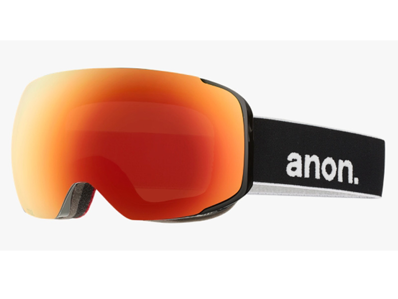 ANON アノン ゴーグル M2 BLACK RED SOLEX スノーボード 10755101007