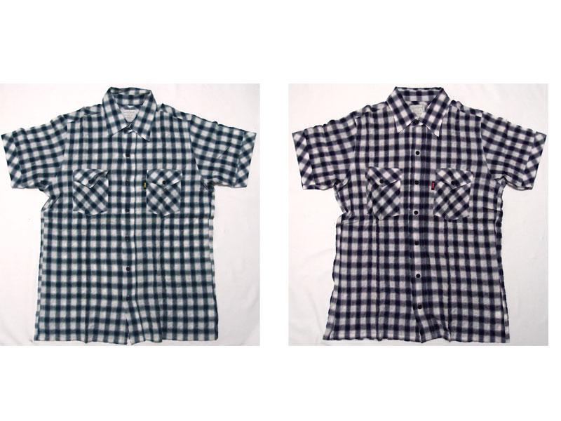 【HOMLESS/ホームレス】半袖シャツ シャツ 半袖 チェック HM S/S CHECK SHIRTS ファッション トップス ストリート