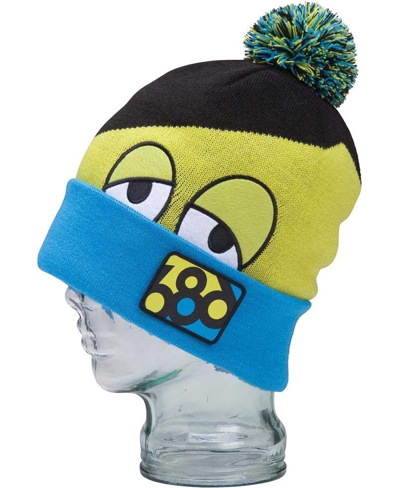 686 六八六针织的帽帽,帽子,Pom Pom,帽子,SNAGGLE 隐藏童帽 L2WB02 日本鹰帽帽子帽