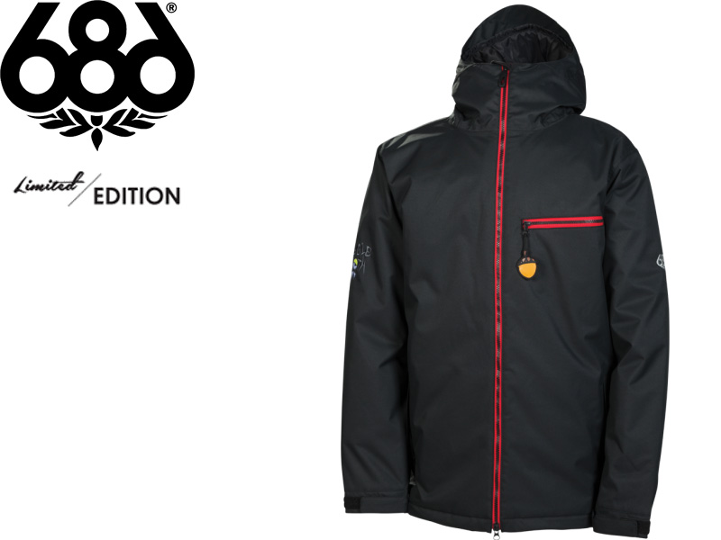 686 SIX EIGHT LIMITED EDITION Snow Wear Jackets 2013 2014 Japanese Regular Article L3W129 SNAGGLEDAD INSULATED JACKET SNOWBOARD