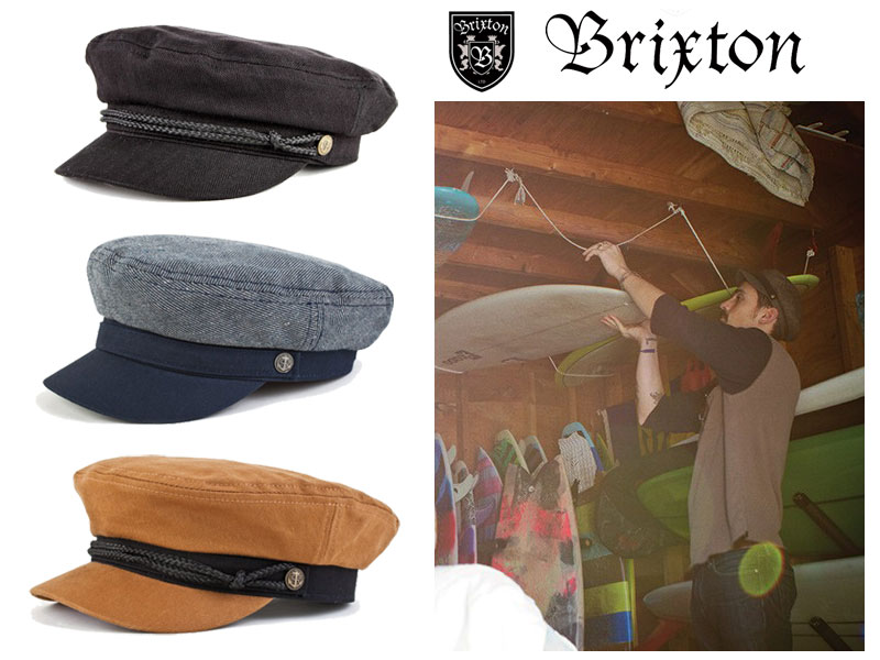 315aa3f7ce80c Brixton BRIXTON FIDDLER Fiddler Cap Hat fisherman marine Cap men s fashion  2012 HOLIDAY for winter for the fall winter autumn Navy Black camel M SKATE  SURF ...