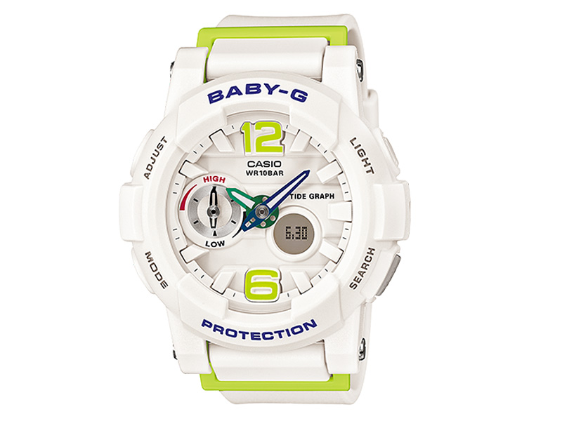 【CASIO/カシオ】【BABY G /ベビーG】BGA-180-7B2JF 腕時計 G-LIDE タイドグラフ サーフィン