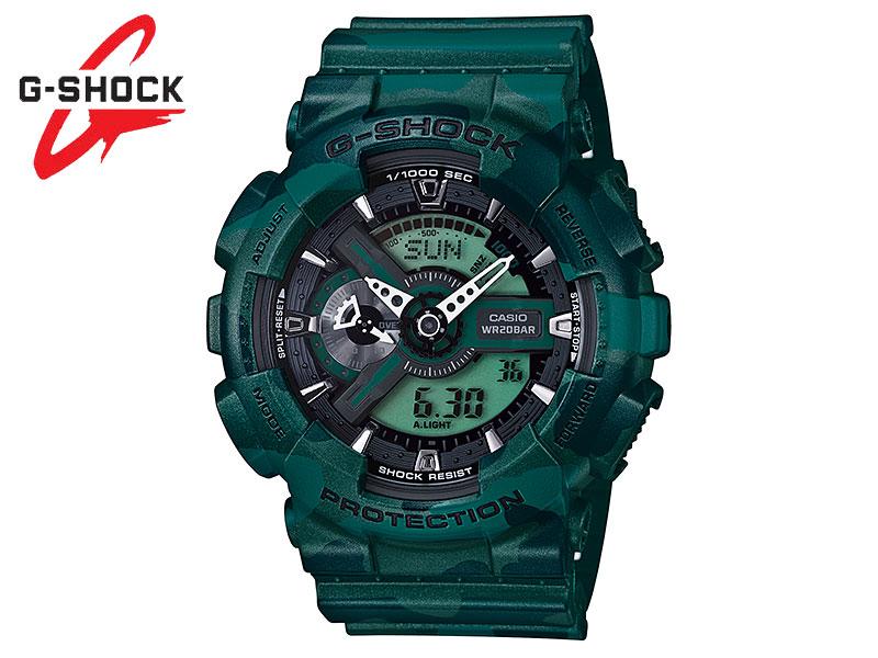 G-SHOCK G SHOCK GSHOCK ジーショック CASIO カシオ 腕時計 Camouflage Series カモフラージュシリーズ GA-110CM-3AJF ギフト 送料無料 5146 日本正規品