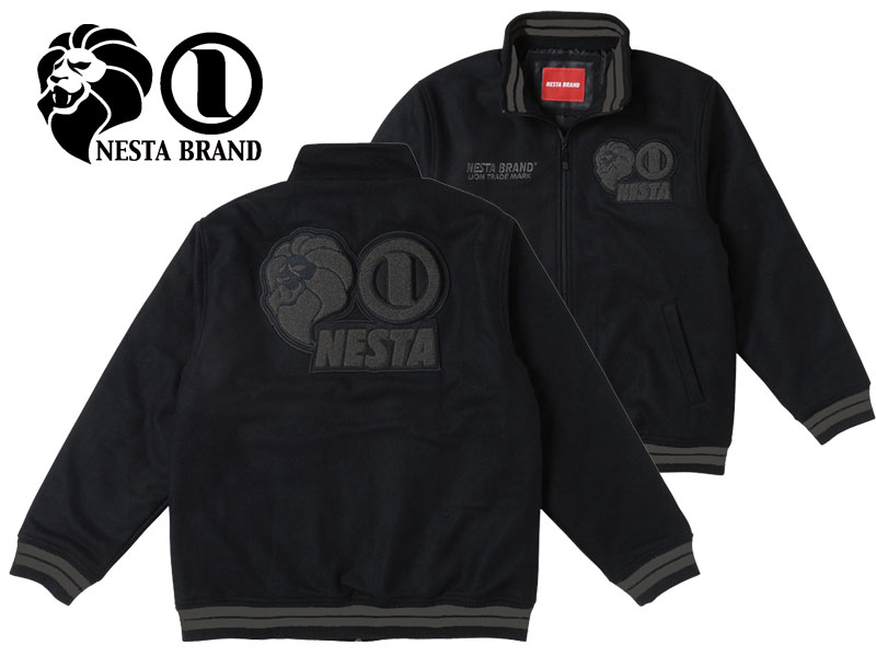NESTA BRAND ネスタブランド TRUTH & RIGHTS MELTON JACKET メルトン スタジャン ジャケット レゲエ ラスタ ストリート系