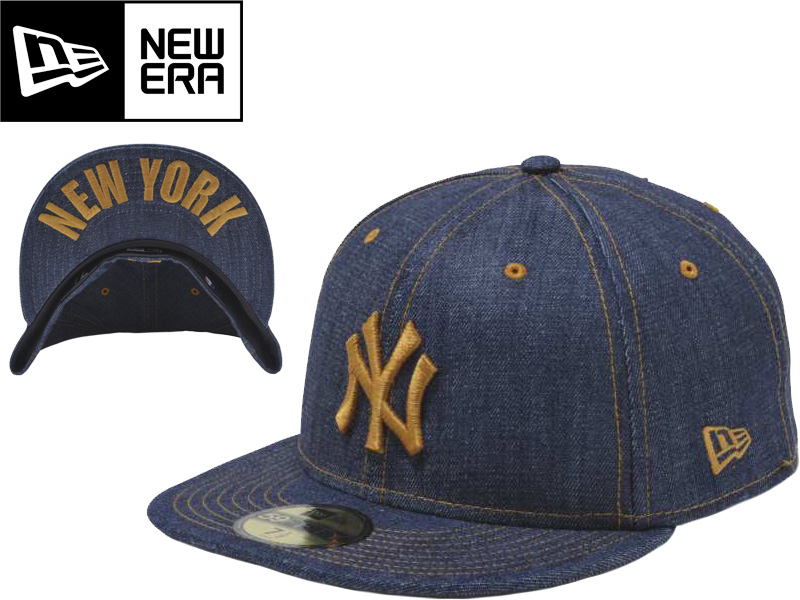 cc94a87caed The NEW ERA new era 59FIFTY CAP hat baseball cap N0018803 59FIFTY  UNDERVISOR Denim New York Yankees