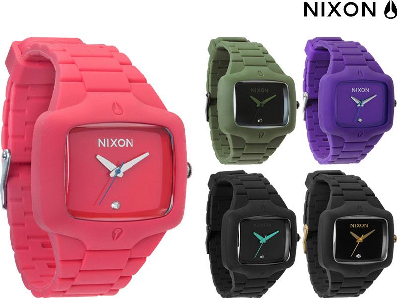 【訳アリ品】NIXON ニクソン RUBBER PLAYER ラバープレイヤー A139 腕時計 ウオッチ 防水 日本正規品