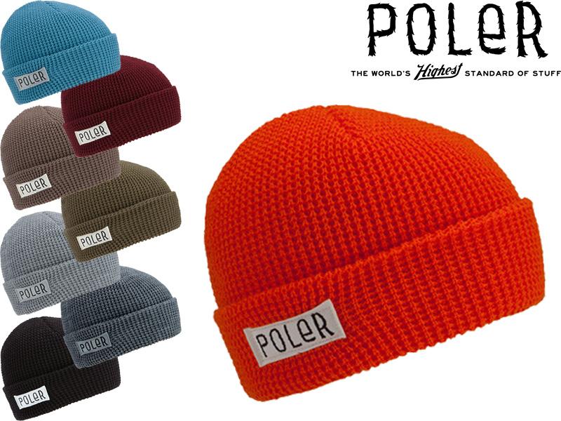 POLER polar knit hat beanie cap hat CAP HAT hat Worker Man Beanie OUTDOOR  camping camping gear 11b7a955d9d
