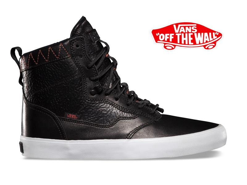 VANS バンズ ヴァンズ OTW LYNWOOD スニーカー スケートシューズ 靴 スケボー SKATEBOARD EMBOSS BLACK  カジュアルファッション:BRAYZ